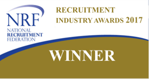National Recruitment Federation Recruitment Industry Award Winner 2017