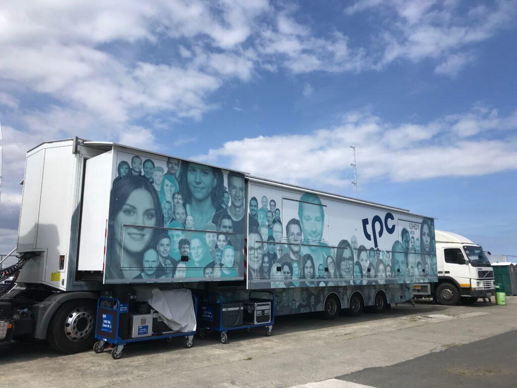 TPC Suisse; UHD1 Outside Broadcast Truck